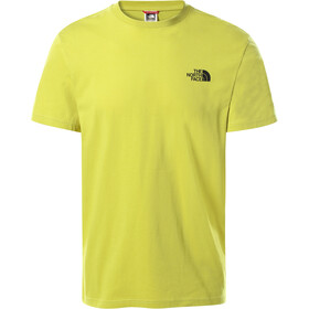 The North Face Simple Dome Camiseta Manga Corta Hombre, citronelle green